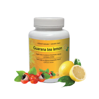 ACTIVSTAR  GUARANA TEA LEMON 109 g